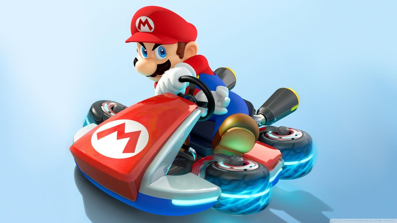Mario Go Cart