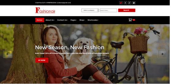 Fashionair Premium Theme
