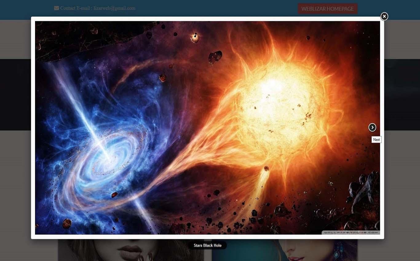 Lightbox Slider Pro WordPress Plugin