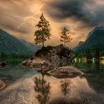 nature-waters-lake-island