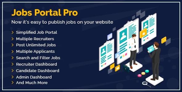 Jobs Portal Pro